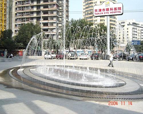 天津眼科医院喷泉
