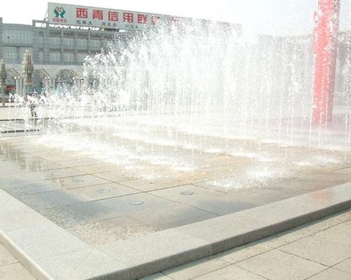 天津西青广场喷泉