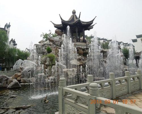 唐山长虹苑小区喷泉