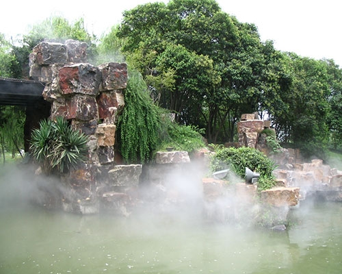 长春假山喷泉