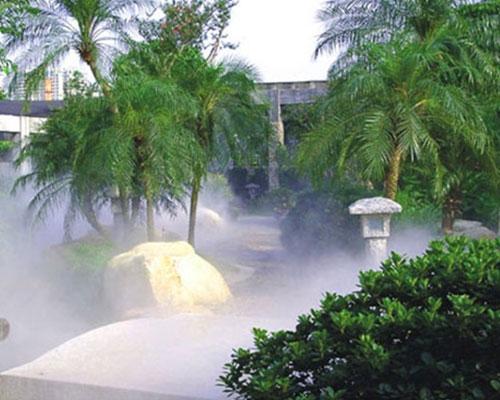 兰州冷雾喷泉设备