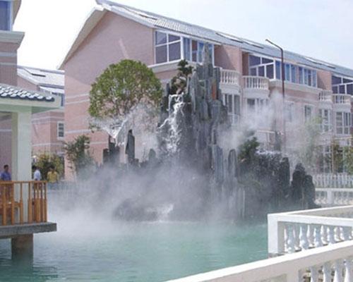 兰州冷雾喷泉工程