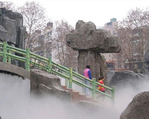 兰州冷雾喷泉