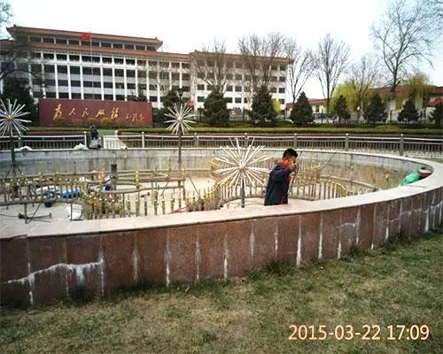大型喷泉维修