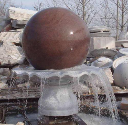 风水球喷泉
