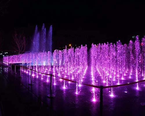 兰州音乐喷泉
