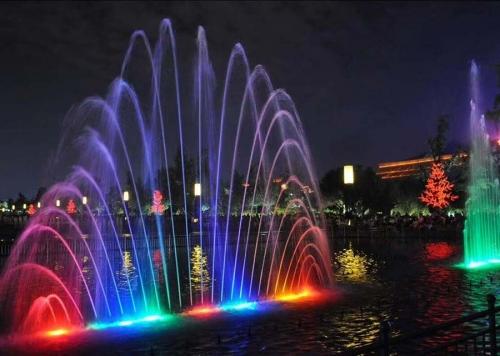 长春喷泉设备