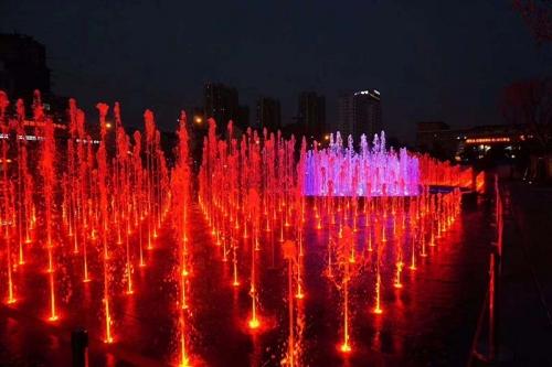 数字水帘喷泉
