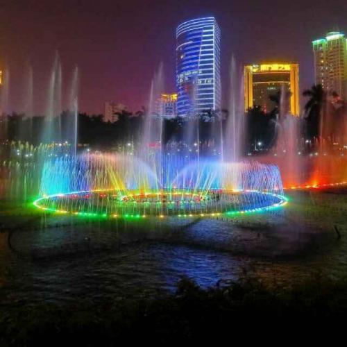 长春广场音乐喷泉